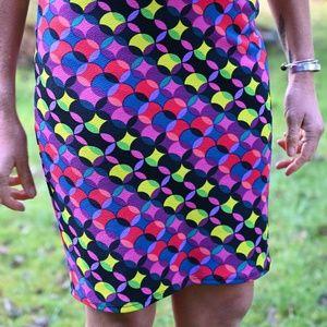 LuLaRoe Cassie Graphic Skirt
